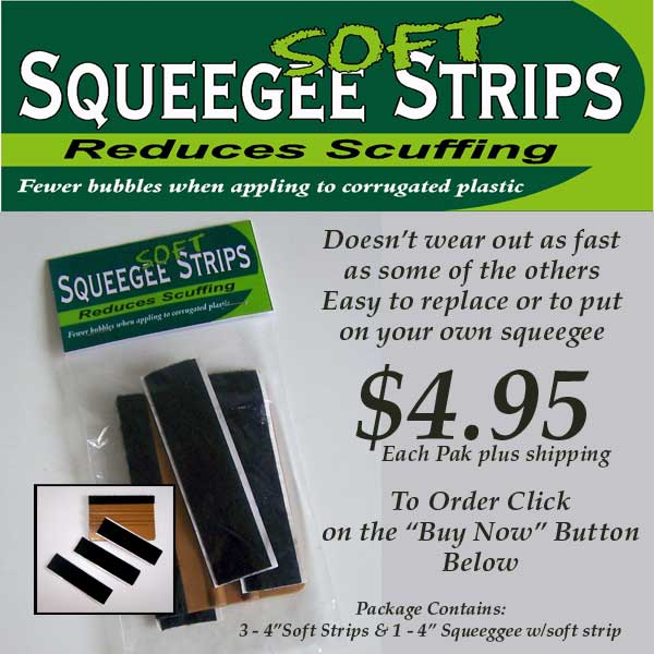Squeegee Soft Strip Ad
